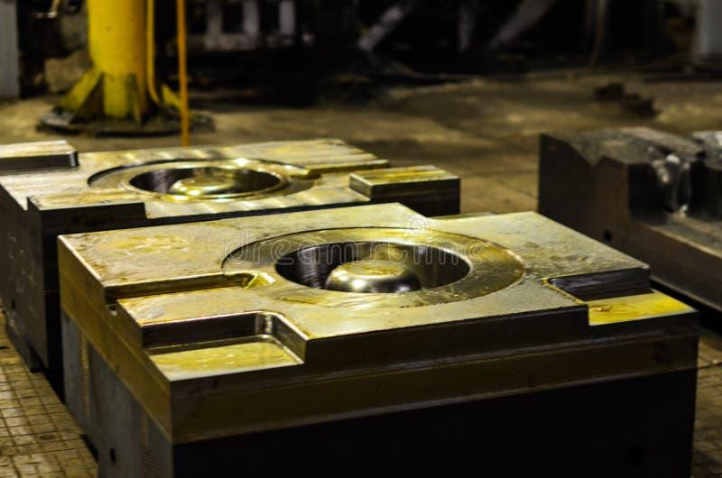高精度死熔铸的汽车铝零件模子用铁金属钢做 库存照片