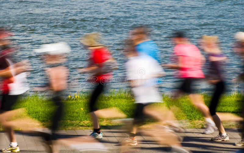 高级赛跑者 免版税库存图片