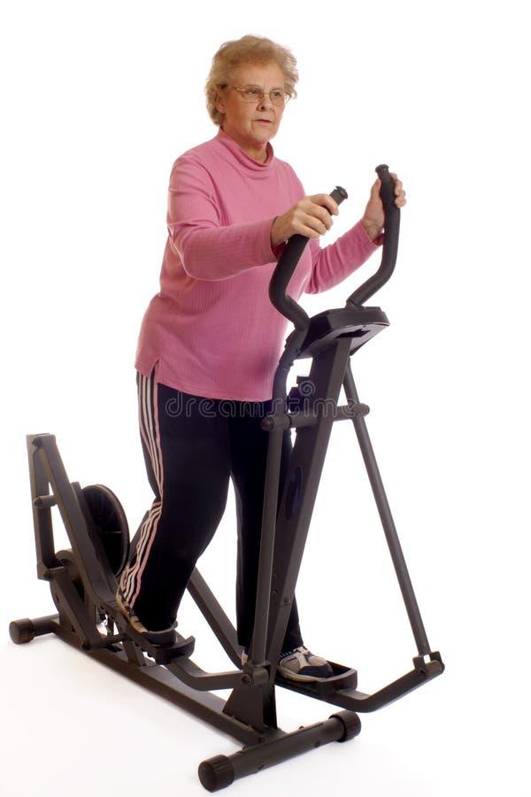 高级锻炼 免版税库存图片