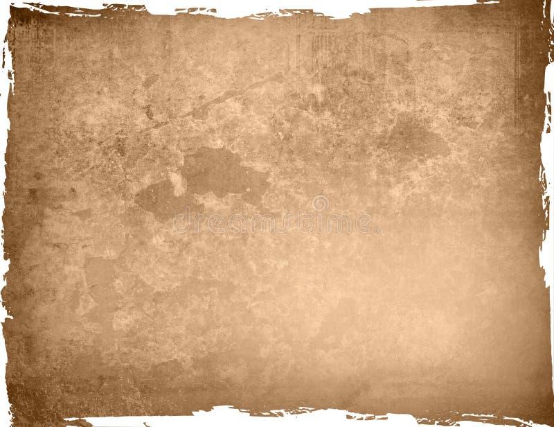 高背景详细框架grunge 免版税库存照片