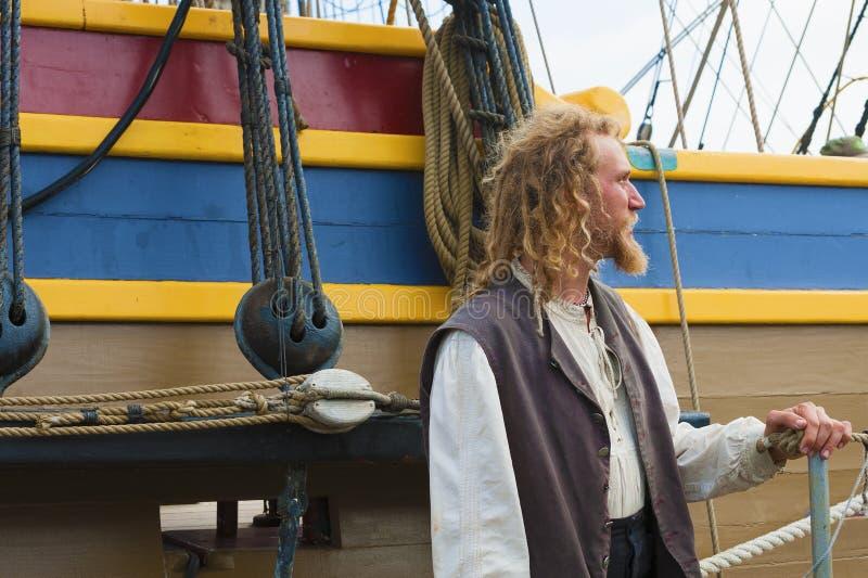 高船夫人的华盛顿水手 图库摄影
