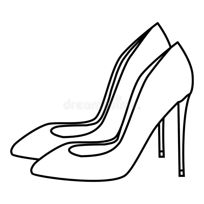 高跟鞋穿上鞋子象,概述样式图片