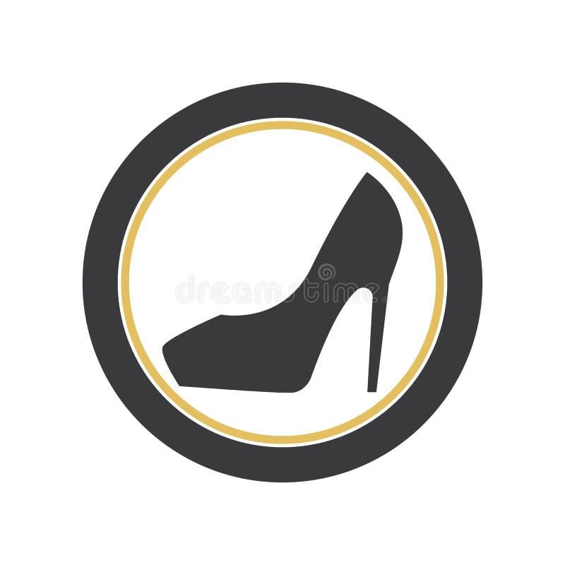 高跟鞋 库存例证