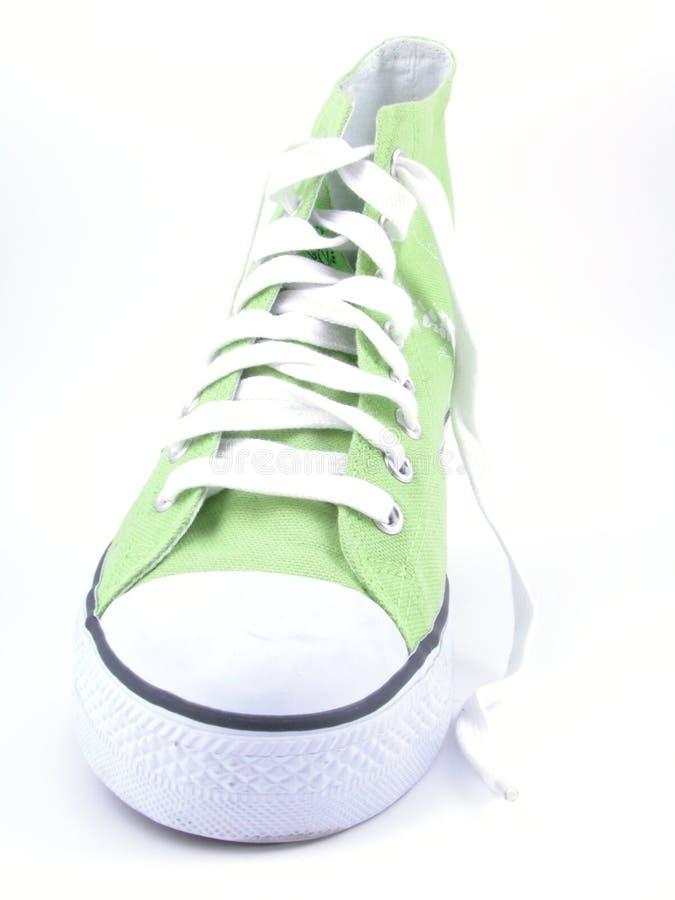 高运动鞋顶层 免版税库存图片