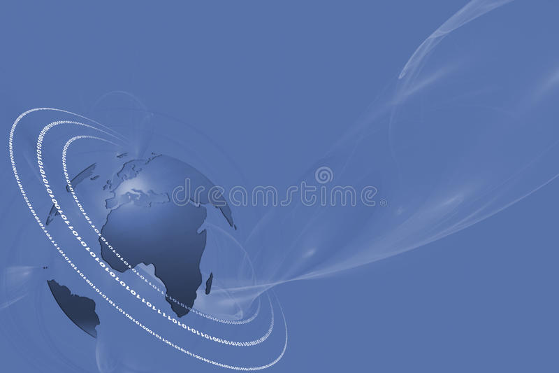 高速互联网BG 皇族释放例证