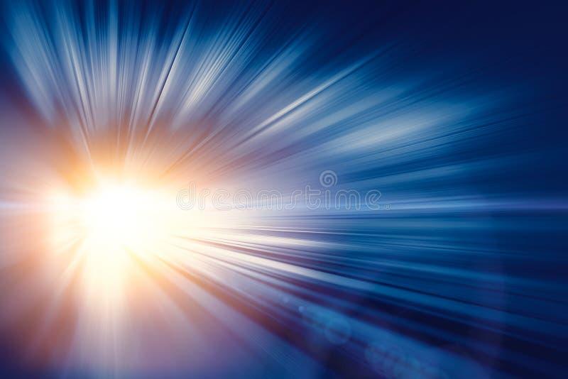 高速企业和技术概念,加速度超级快速的迅速行动迷离摘要 库存照片