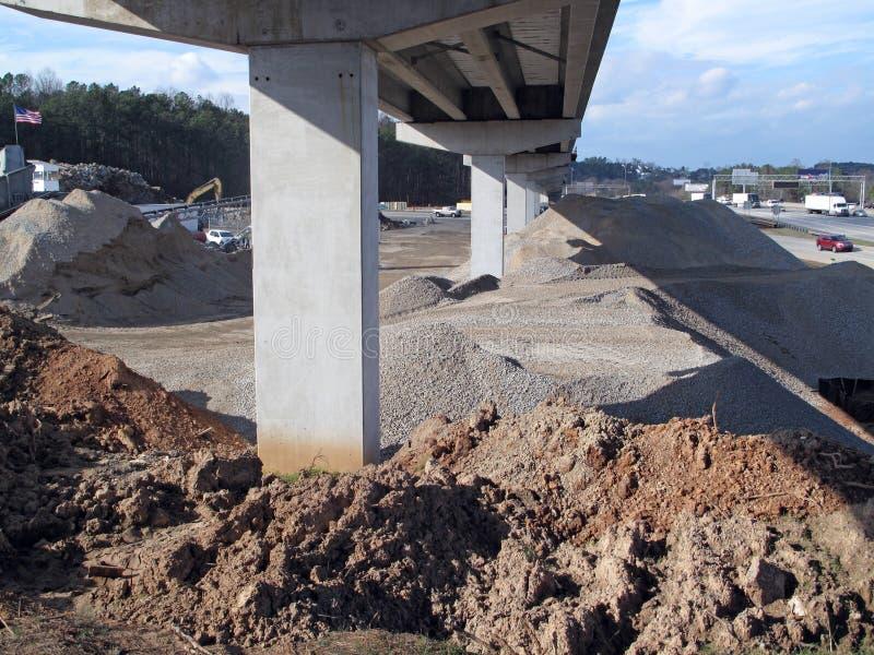 高速公路基础设施 图库摄影
