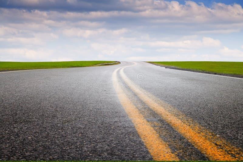 高速公路旅行 免版税图库摄影