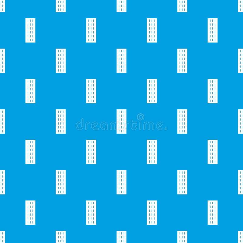 高速公路样式无缝的蓝色 库存例证