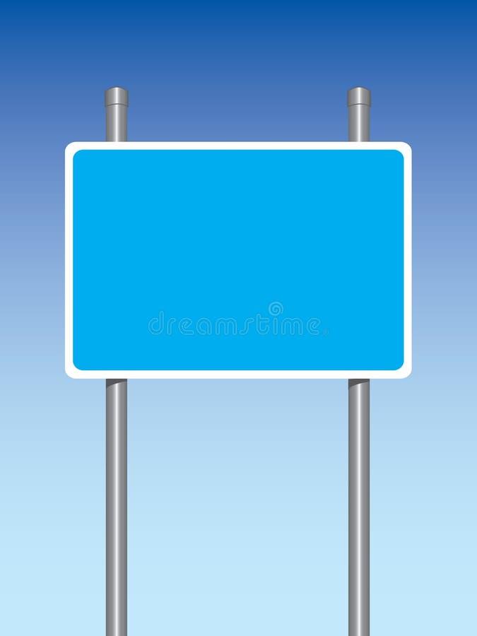 高速公路符号 向量例证