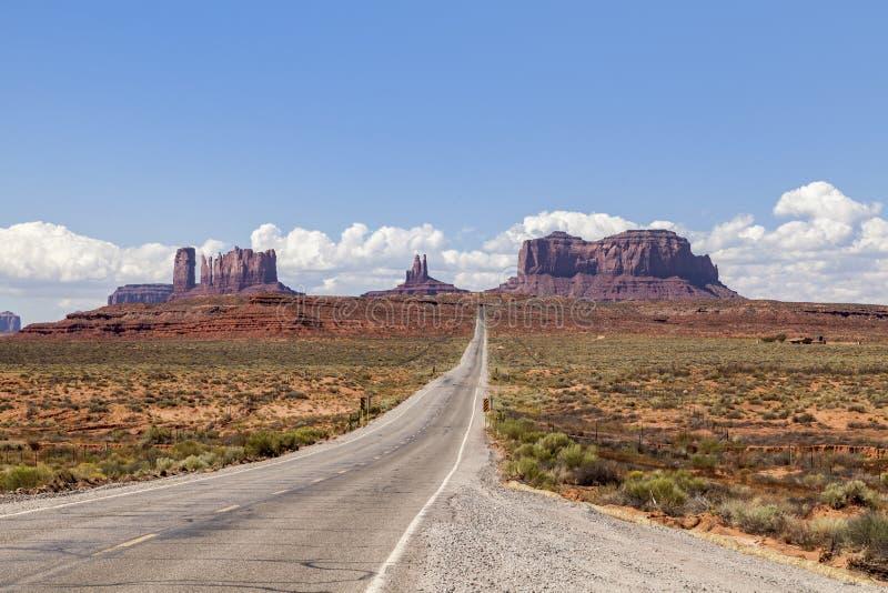 高速公路美国163 免版税库存图片