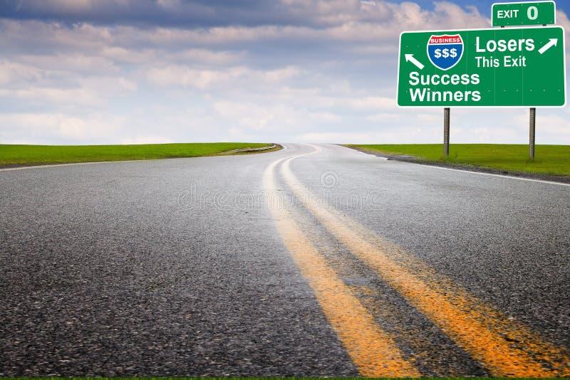 高速公路营销 库存图片