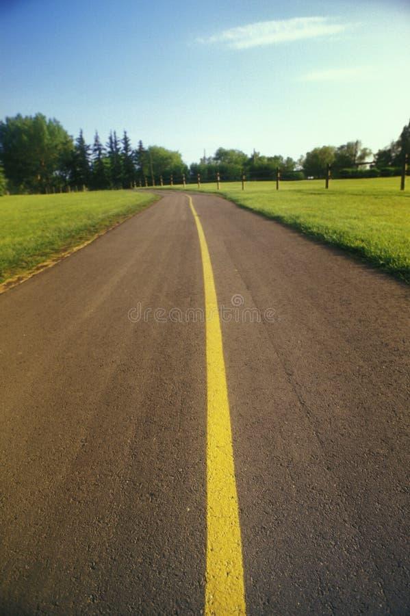高速公路路 库存照片