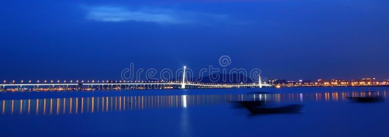 高速公路香港假西部 图库摄影