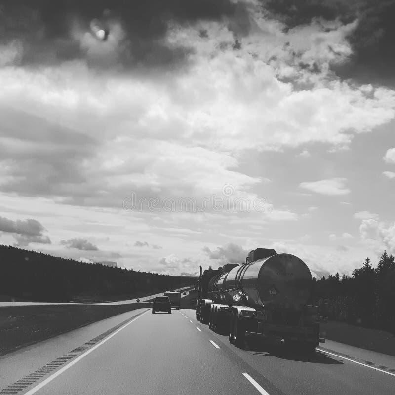 高速公路16 库存照片