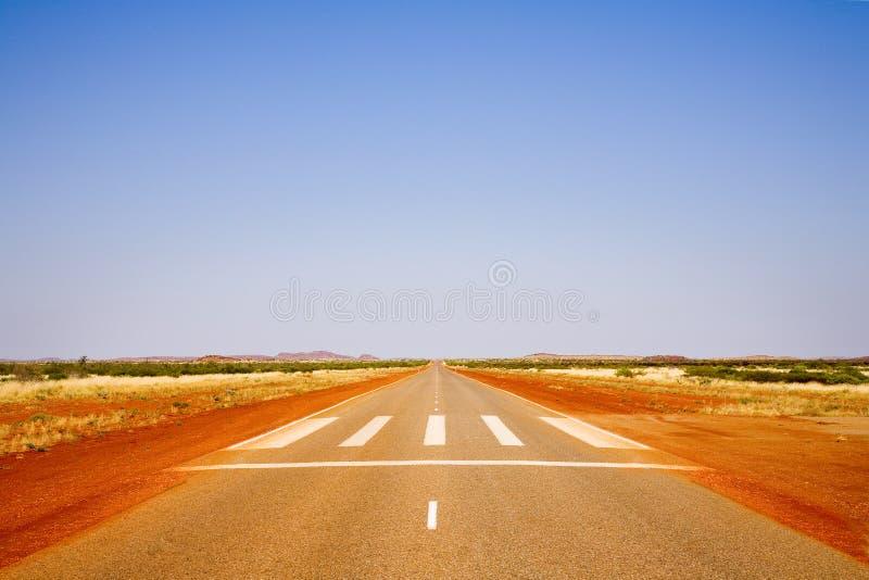 高速公路1澳大利亚西部 库存照片