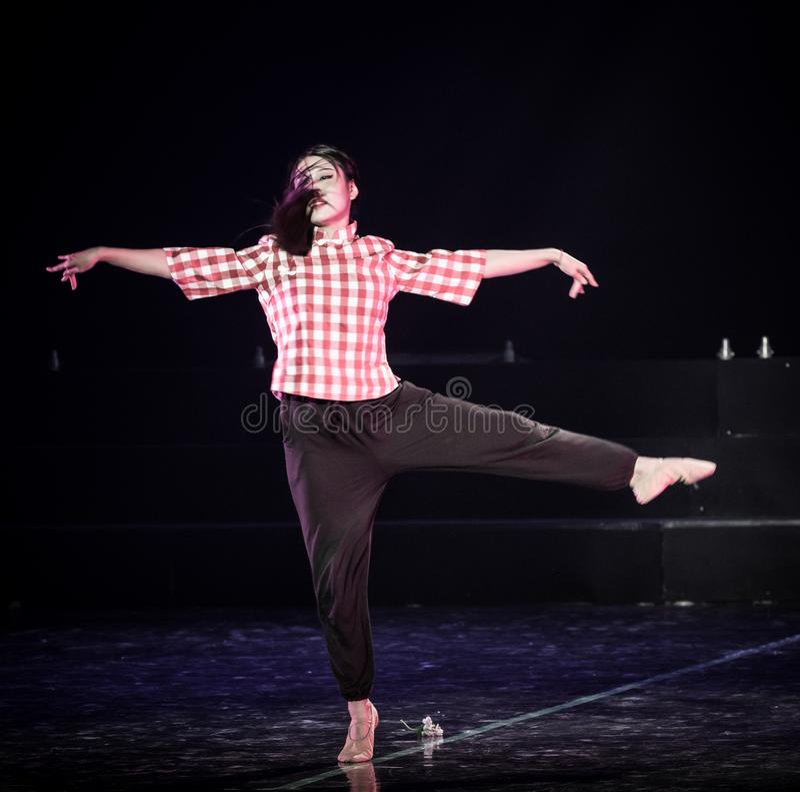 高速自转丁香舞蹈戏曲 免版税库存照片