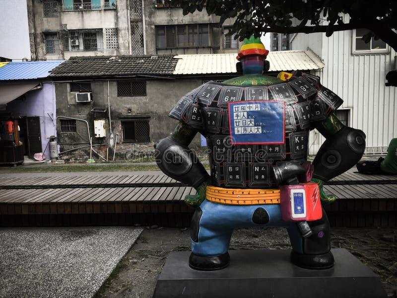 高雄台湾雕象  库存照片