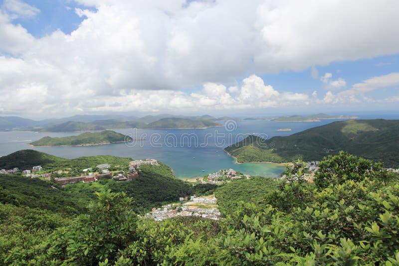 高破烂物峰顶在香港 免版税库存图片