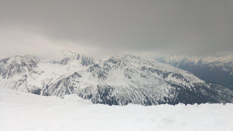 高Tatras山的看法 免版税库存照片
