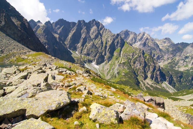 高Tatras,斯洛伐克 库存照片