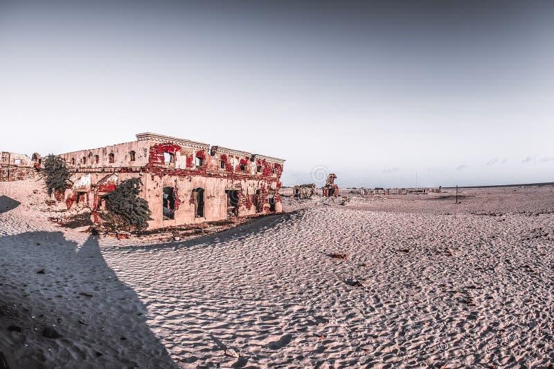 鬼城- Rameshwaram,印度 免版税库存图片