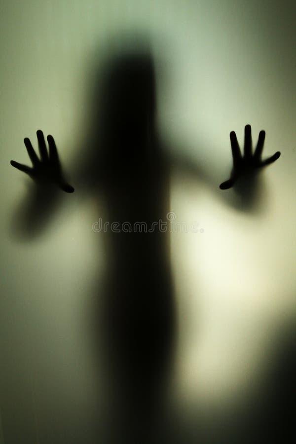 鬼魂出现 免版税图库摄影