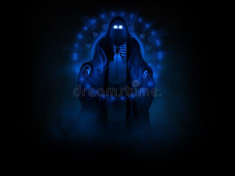 鬼魂幽灵 向量例证