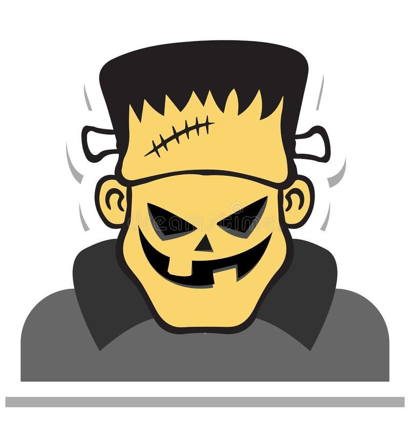鬼魂,可怕邪恶的颜色隔绝了可以容易地是编辑的传染媒介象或修改了 皇族释放例证
