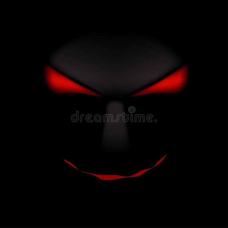鬼魂黑色的图片 向量例证
