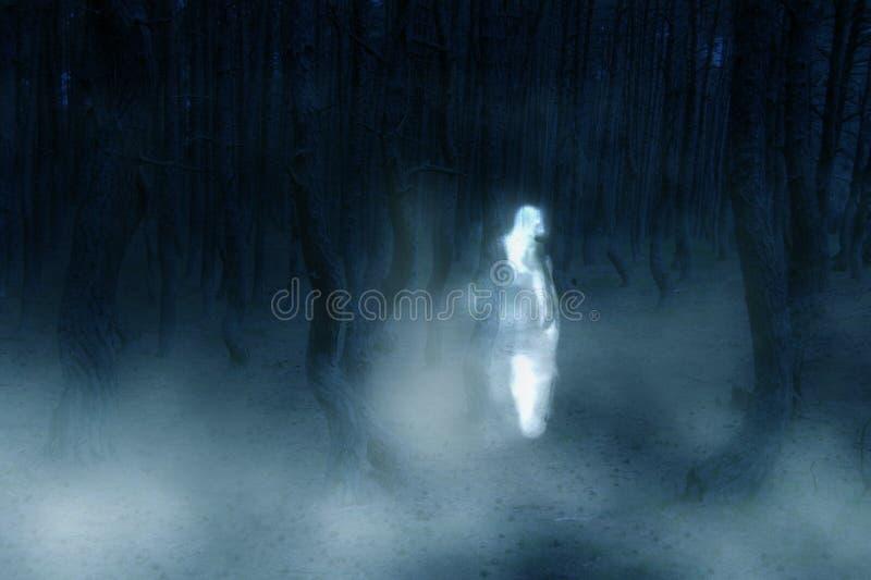 鬼魂 库存照片