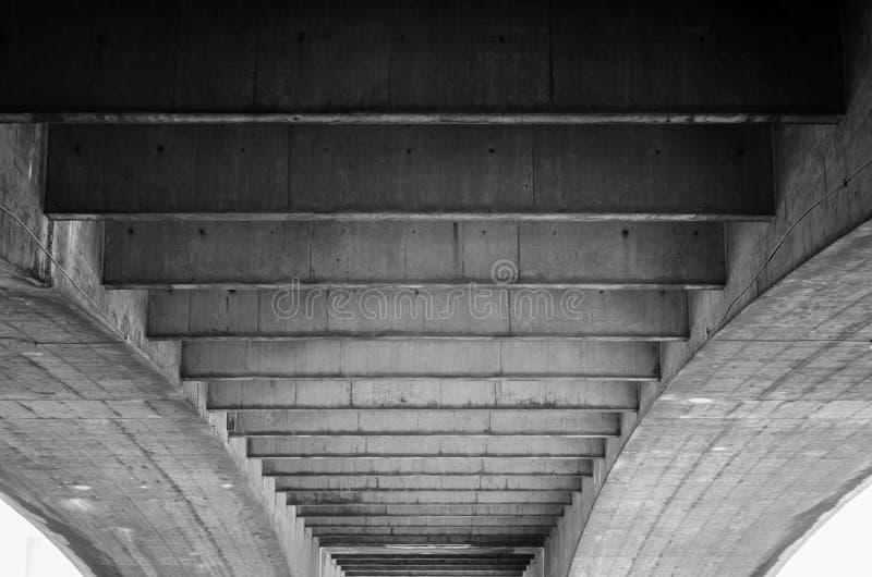 魂断蓝桥的下面边的一个异常的看法 免版税图库摄影