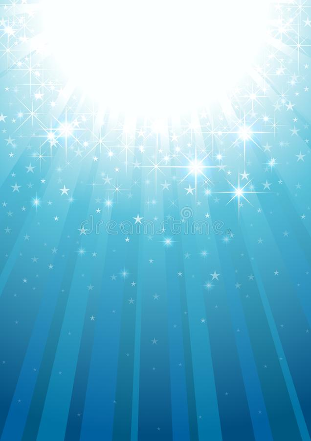 魔术光线 库存例证