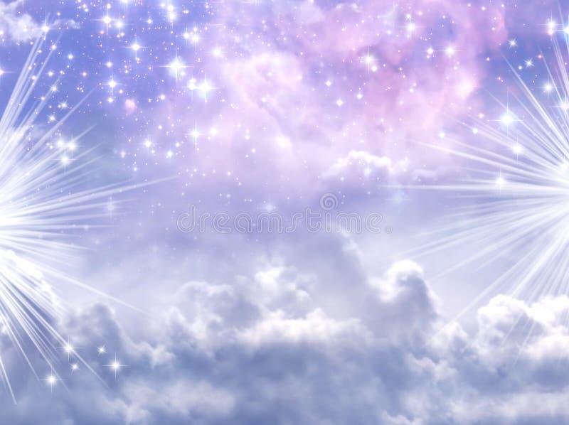 魔术天空 皇族释放例证