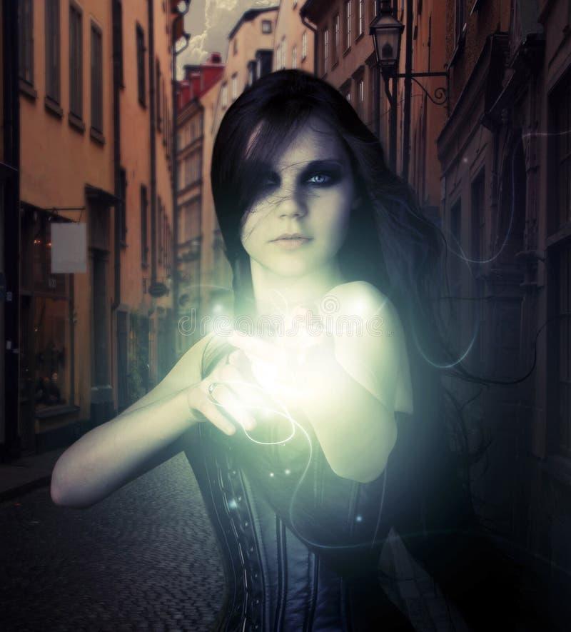 魔术射击 免版税图库摄影