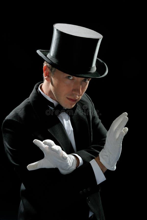 魔术师准备 免版税库存照片