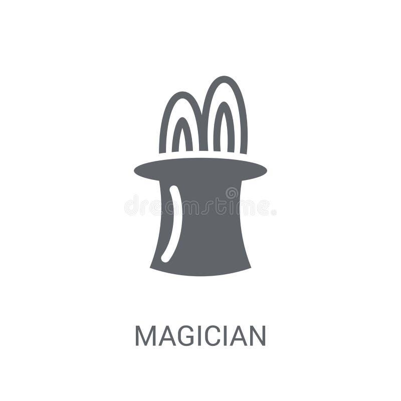 魔术师象  向量例证
