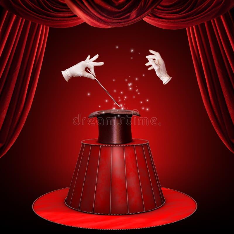 魔术技巧 库存图片