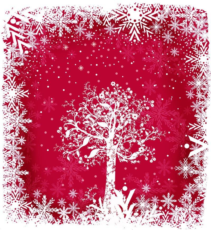 魔术的圣诞节 向量例证
