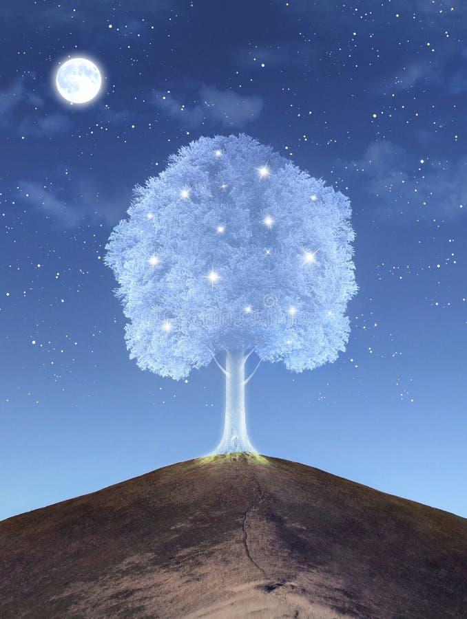 魔术结构树 皇族释放例证