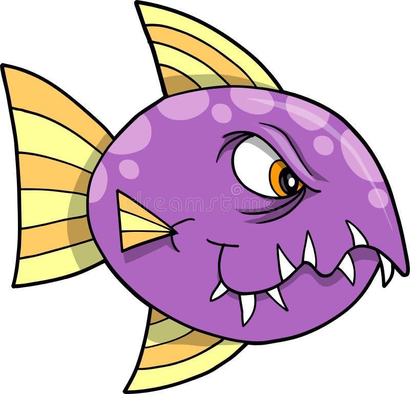 鱼例证平均值向量 皇族释放例证