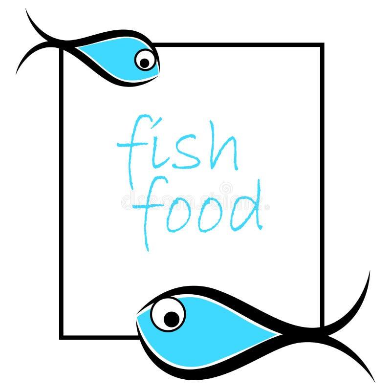 鱼商标 库存例证