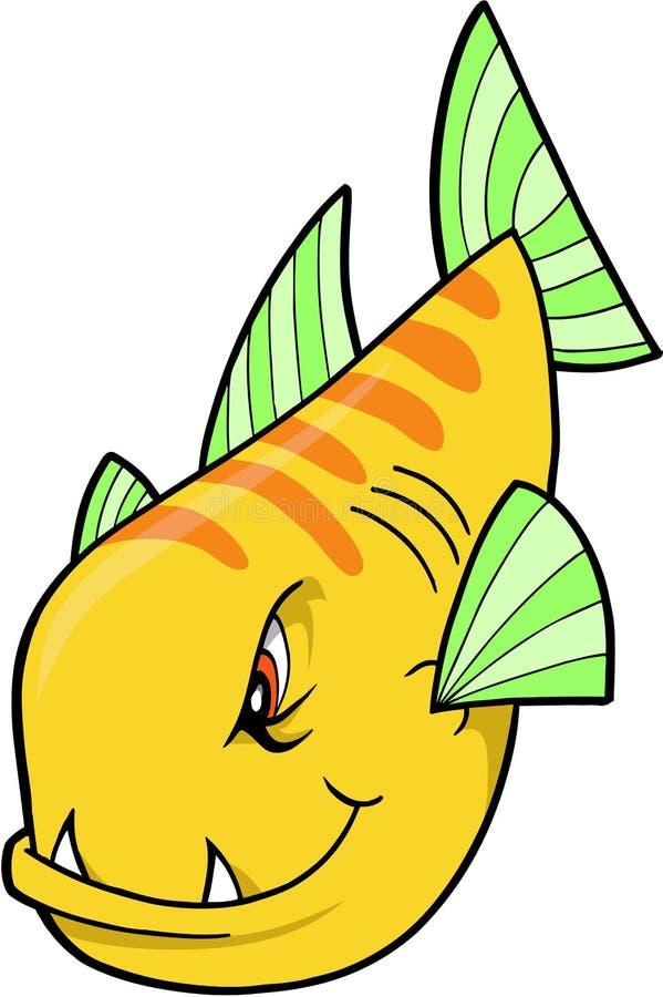鱼平均值 库存例证