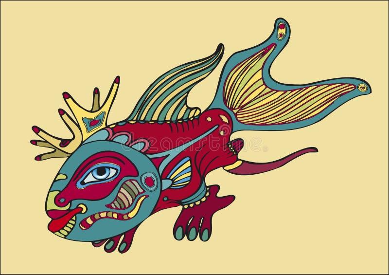 鱼结算 图库摄影