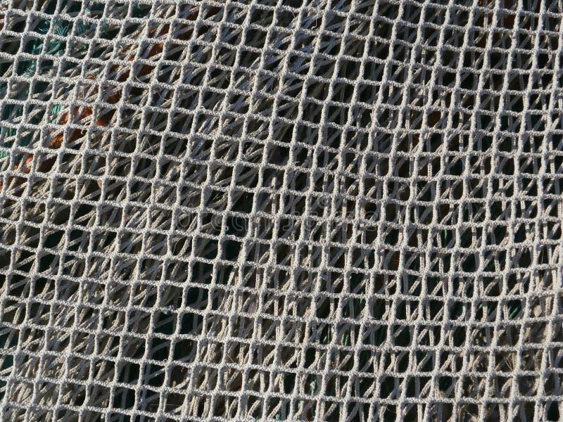 鱼网 免版税库存图片