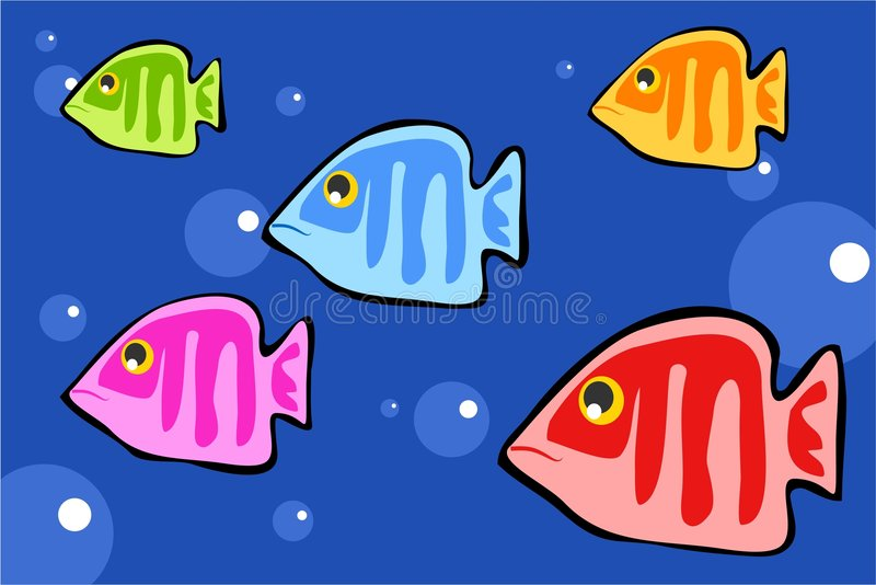鱼 库存例证