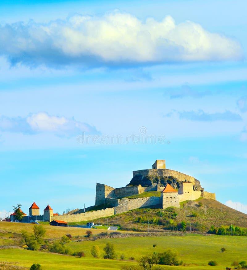 鲁佩亚城堡,罗马尼亚 免版税库存图片