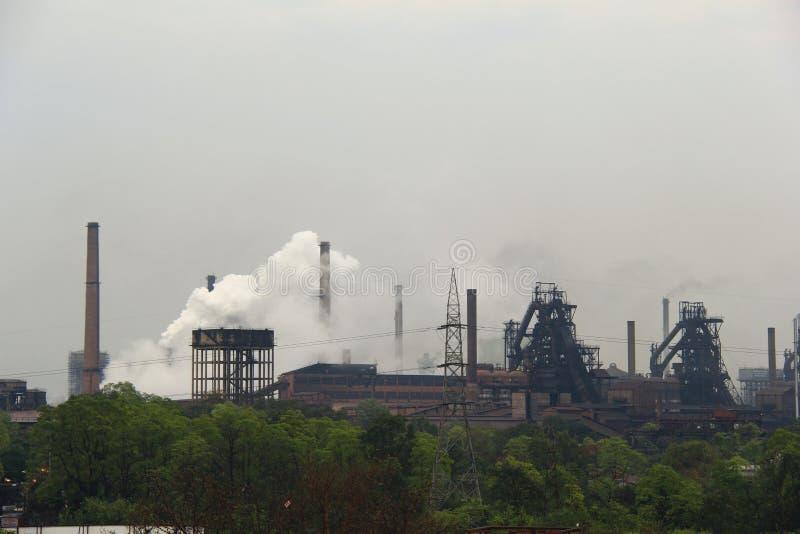 鲁吉拉钢铁厂  图库摄影