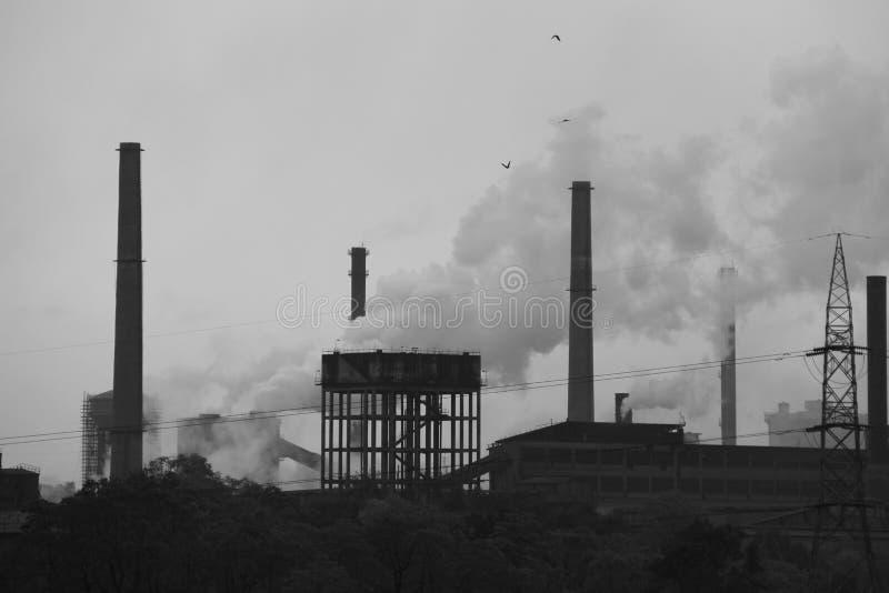 鲁吉拉钢铁厂  库存图片