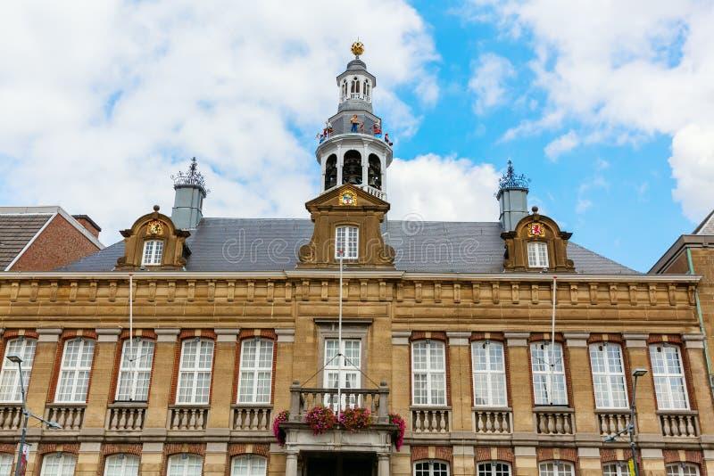鲁尔蒙德,荷兰历史市政厅  库存照片